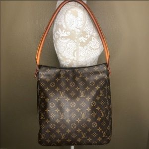 Authentic Louis Vuitton GM Looping purse
